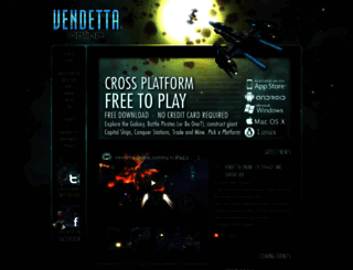 vendetta-online.com screenshot