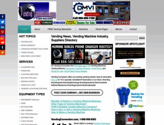vendingconnection.com screenshot