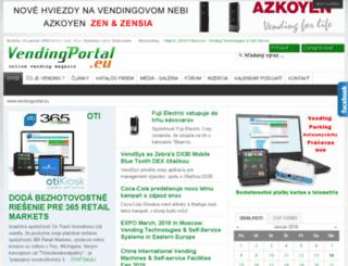 vendingportal.eu screenshot