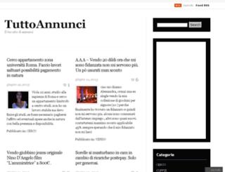vendocomproaffittocerco.wordpress.com screenshot