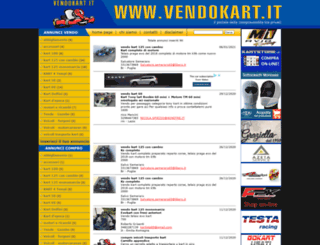 vendokart.it screenshot