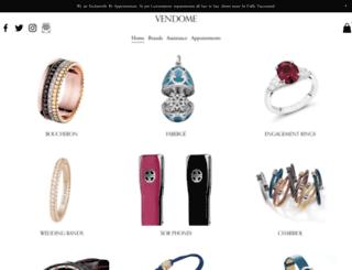 vendome.com.au screenshot