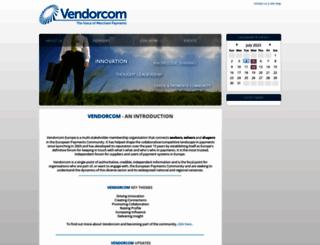 vendorcom.com screenshot