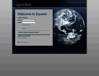 vendors.equator.com screenshot