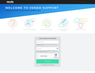 vendosupport.com screenshot