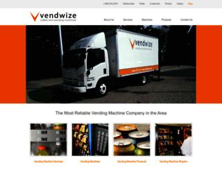 vendwize.com screenshot