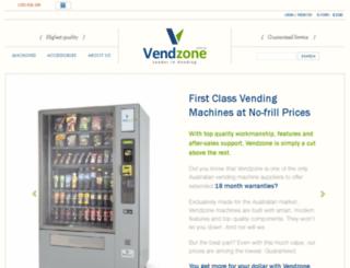vendzone.com.au screenshot