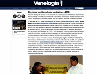 venelogia.com screenshot