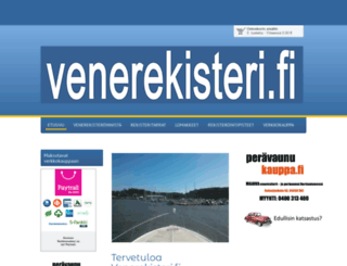 venerekisterit.fi screenshot