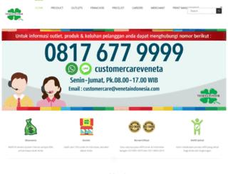 venetaindonesia.com screenshot