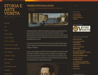 venetostoria.wordpress.com screenshot