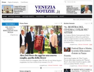 venezianotizie.it screenshot
