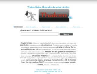 venezuela.autothalom.com screenshot