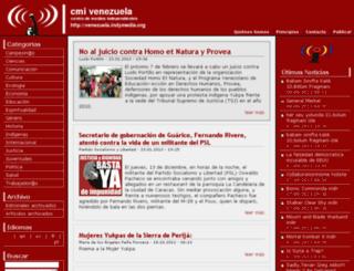 venezuela.indymedia.org screenshot