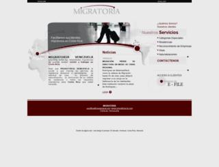 venezuela.migratoria-la.com screenshot