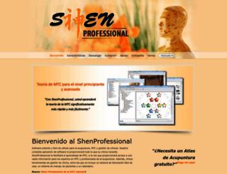 venezuela.shenprofessional.com screenshot