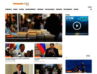 venezuelaaldia.com screenshot