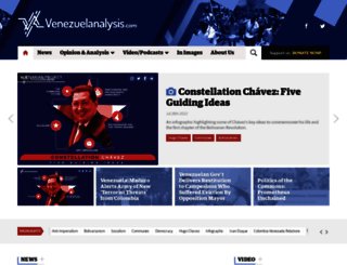 venezuelanalysis.com screenshot