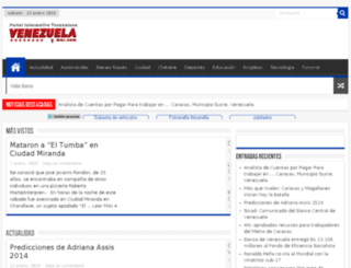 venezuelaymas.com screenshot