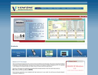venfone.co.in screenshot