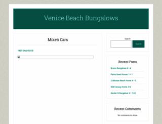 venicebeachbungalows.com screenshot