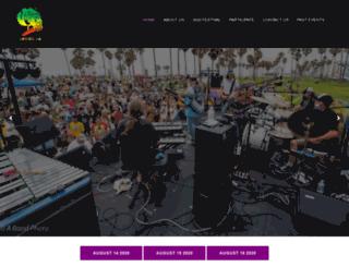 venicebeachmusicfest.com screenshot