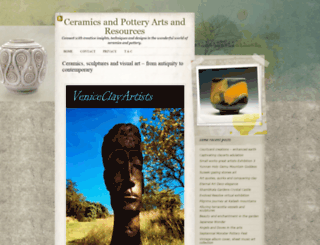 veniceclayartists.com screenshot