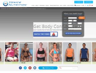 venicenutrition.com screenshot