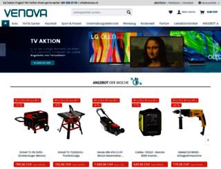 venovasport.ch screenshot