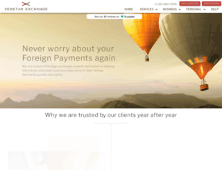 venstar-exchange.com screenshot