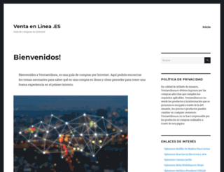 ventaenlinea.es screenshot