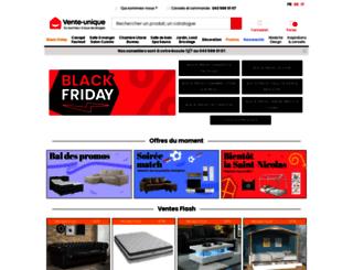 vente-unique.ch screenshot