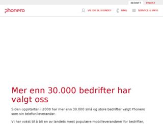 ventelolog.no screenshot