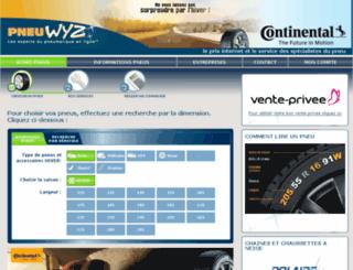 venteprivee2.pneu-wyz.com screenshot