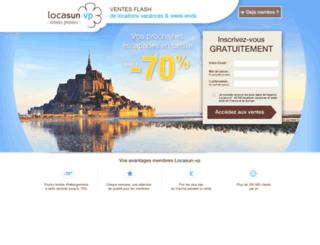 ventes-privees.locasun.com screenshot