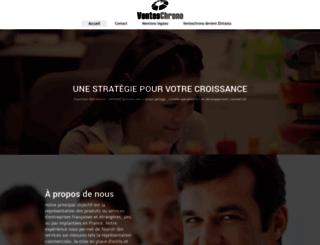 venteschrono.com screenshot
