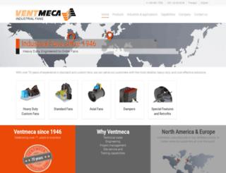 ventmeca.com screenshot