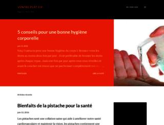 ventre-plat-tip.blogspot.fr screenshot