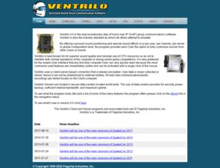 ventrilo.com screenshot