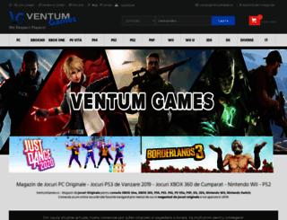 ventumgames.ro screenshot