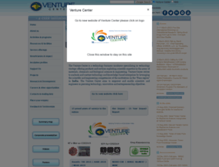 venturecenter.co.in screenshot