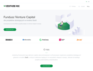 ventureincubator.pl screenshot