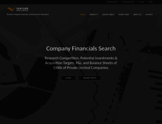 ventureintelligence.com screenshot