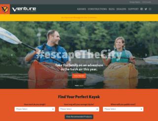 venturekayaks.com screenshot