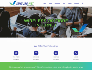 venturenet.co.za screenshot