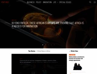 venturesafrica.com screenshot