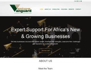 venturevanguard.com screenshot