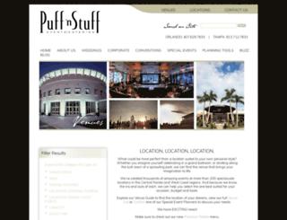 venues.puffnstuff.com screenshot