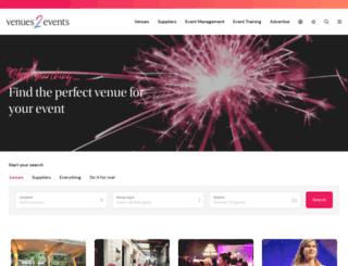 venues2events.com.au screenshot