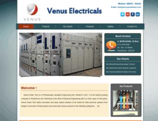 venuselectricalworks.com screenshot